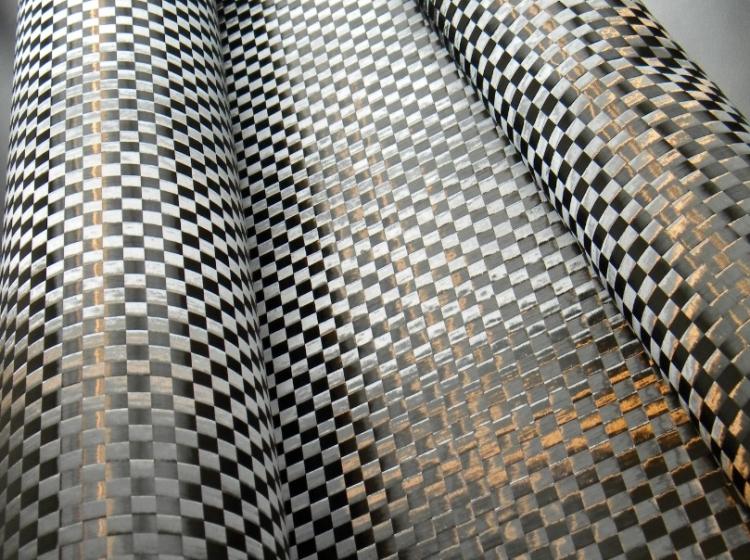 Telas de fibra de carbono